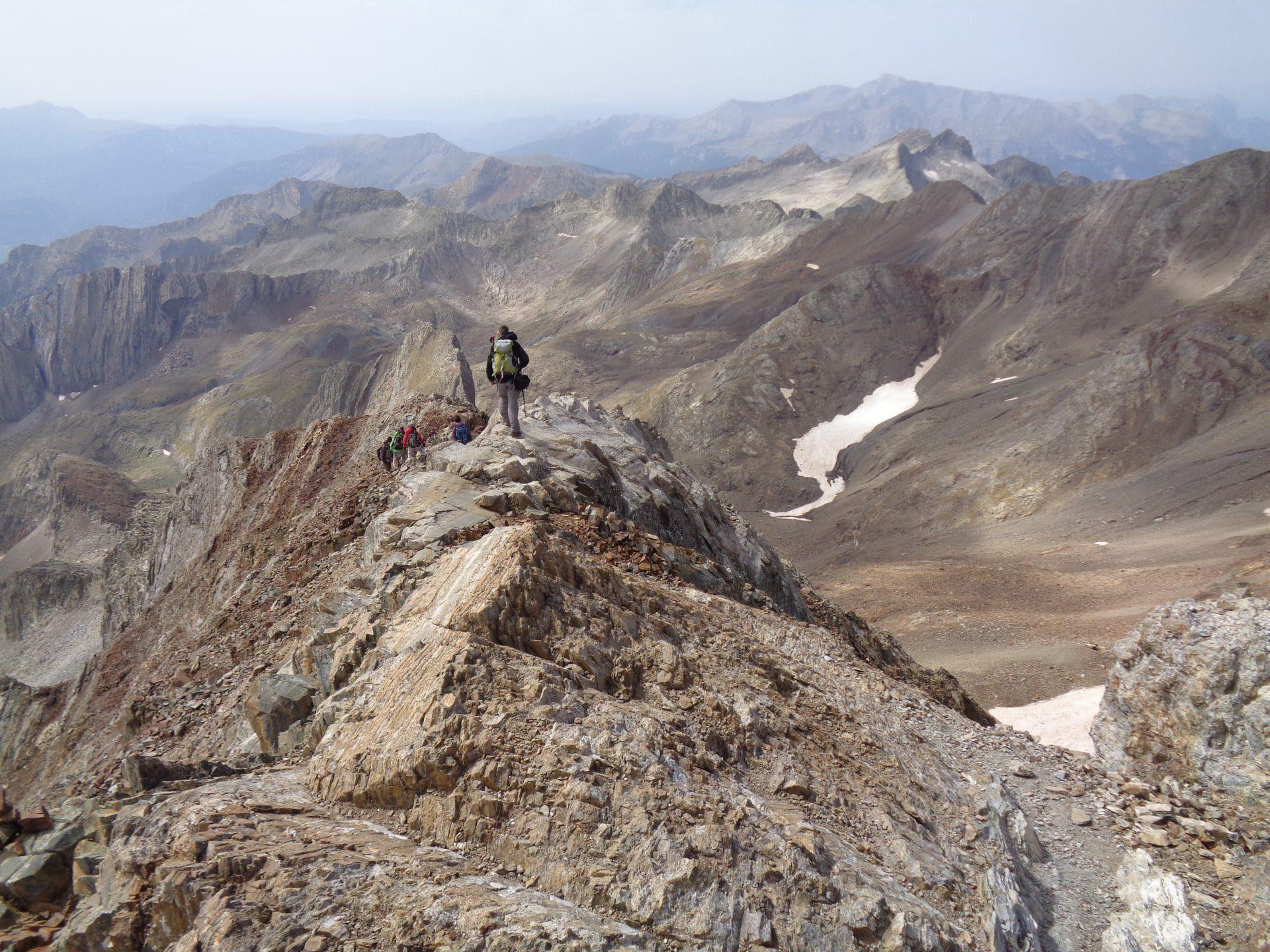 Pic des Posets ou Pointe de Llardana 3375m