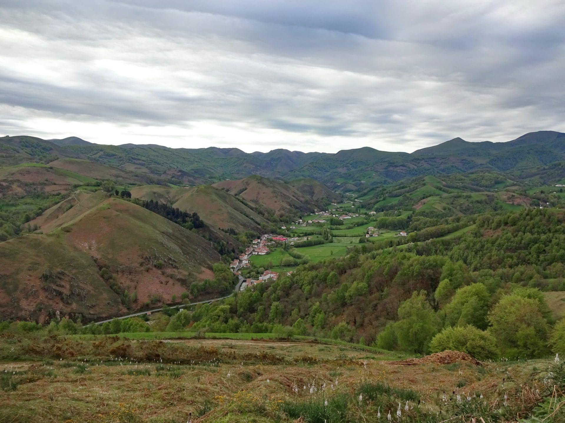 Pic d'Harguibel 991m – Peña de Alba 1074m