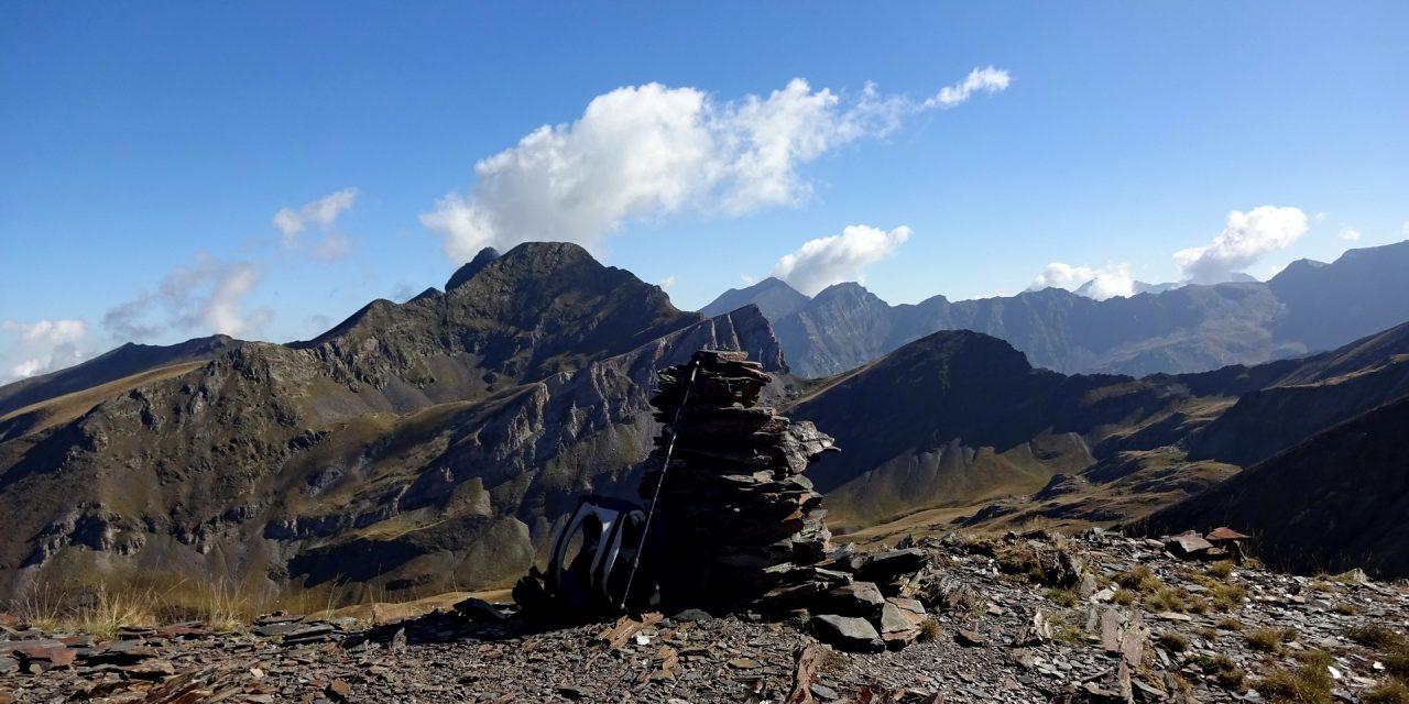 Pic de l'Aiguillette – Pic de Marioules