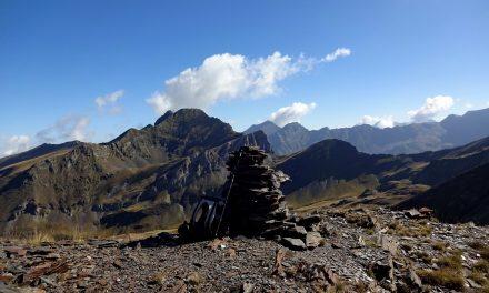 Pic de l'Aiguillette 2517m – Pic de Marioules 2586m