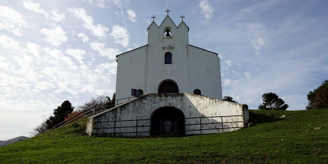 Chapelle Saint-Antoine – Pic d'Elhaudi 700m