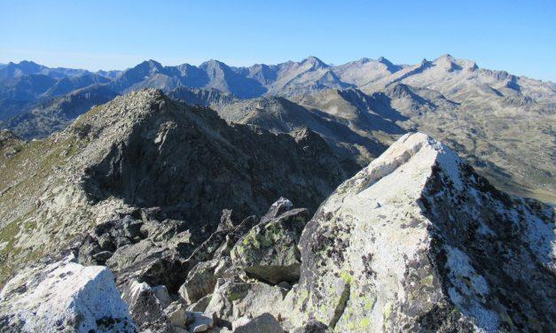 Pic du Contadé 2714m – Pic des Quatre Termes 2724m